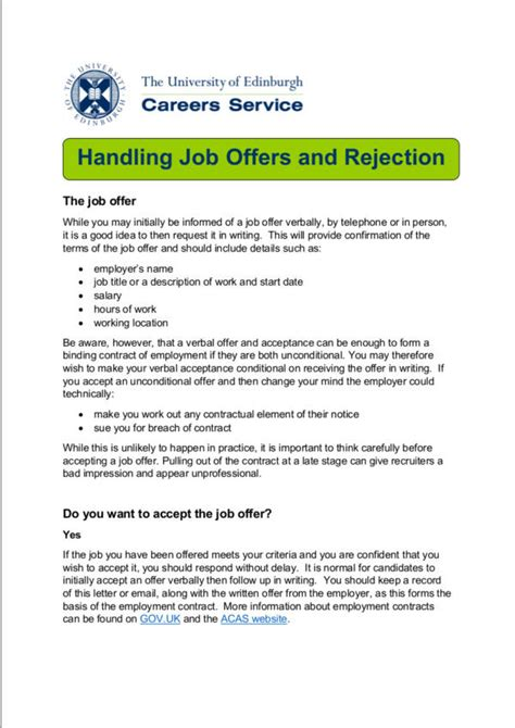 politely turning down a job offer image titled decline a