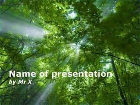 Forest Template by Forest Powerpoint Templates