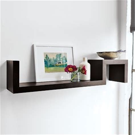 On The Shelf Home by S Wall Shelf West Elm Modern Display And Wall