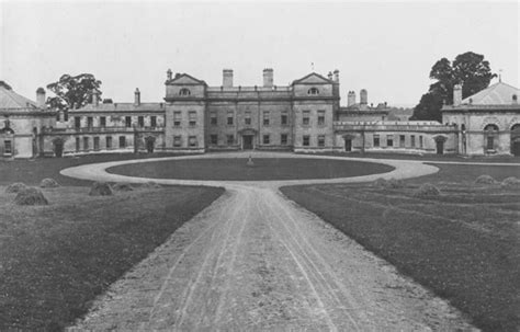 County House Plans England S Lost Country Houses Normanton Park