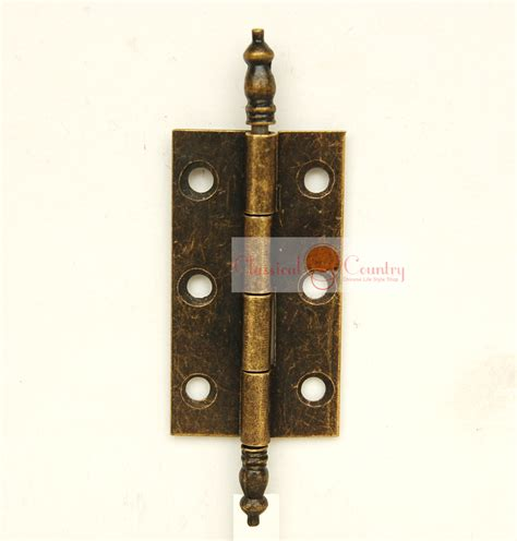 4 sets Antique Hinges for Cabinet Trunk Jewelry Box Storage box Furniture Hardware Hinges
