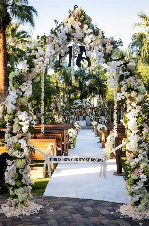 Wedding Arch Entrance by Ceremony D 233 Cor Photos Dramatic Ceremony Entrance Arch