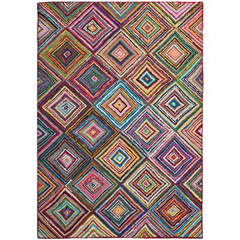 Area Rugs 6 X 9 Safavieh Nantucket Multi 6 Ft X 9 Ft Area Rug Nan317a 6 The Home Depot