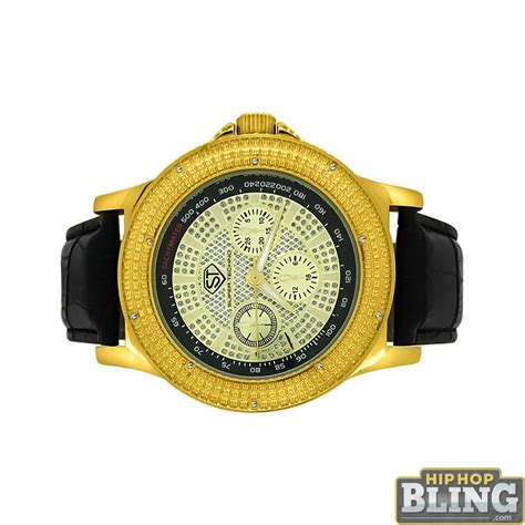 tachymeter gold bling techno