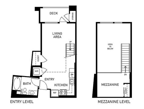 mezzanine floor plan westgate everyaptmapped pasadena ca apartments