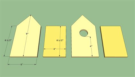 plans for building bird houses getting started in woodworking pdf plans page 2