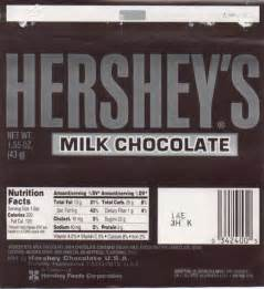 Chocolate Bar Label Template by Hershey S Bar Wrapper