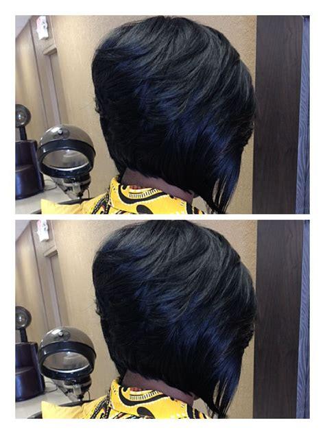 how to razor comb quick weave quick weave bob hair art of san antonio stylist dj ediona