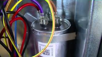 hvac dual run capacitor wiring