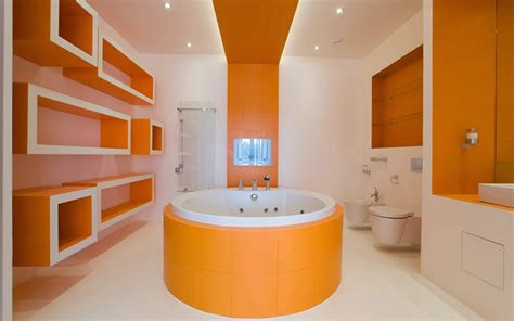orange in bathtub 10 modern bathroom designs and ideas in orange color