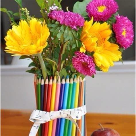 Colored Pencil Vase by Color Pencil Vase Crafts
