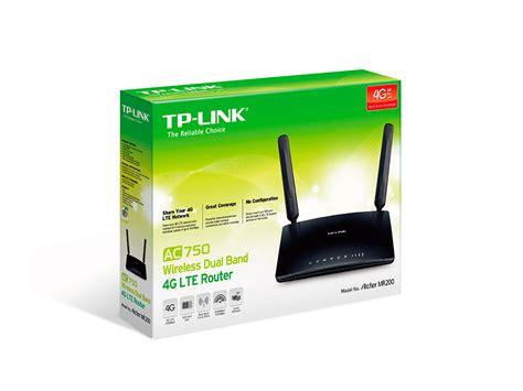 Router Tp Link 4g tp link mr200 ac750 wireless 4g lte router archer mr200