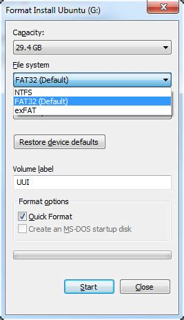 format flash disk windows formatting how to format a flash drive as udf in windows