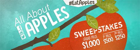 All About Sweepstakes - domex superfresh growers unveils quot all about apples quot sweepstakes and now u know