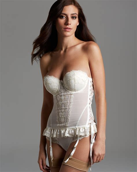 Home Decor And Furniture by Blush Lingerie Corset True Bliss Strapless 28741