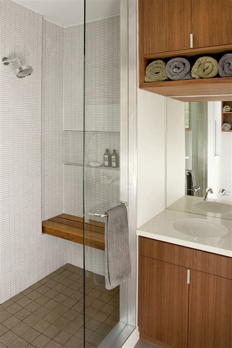 shower built in bench shower bench bathroom contemporary with brown tile shower