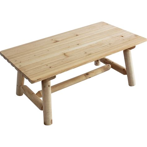 Log Coffee Table Stonegate Designs Fir Wood Log Coffee Table End Tables Northern Tool Equipment