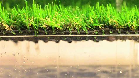 giardini sintetici test drenaggio erba sintetica per giardini