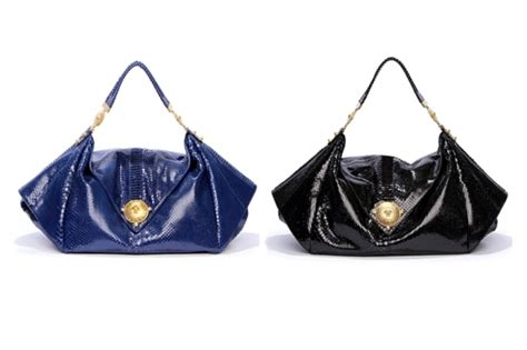 Versace Blue Fox Hit Purse by Versace Fall 2011 Handbags And Totes