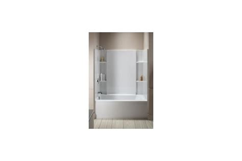 sterling bathroom sterling by kohler accord bath shower kit white bathroom