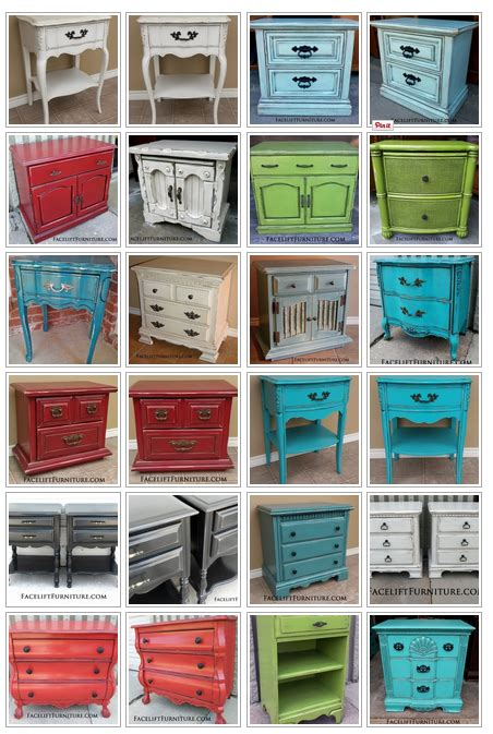 refinish furniture ideas nightstand refinishing ideas facelift furniture