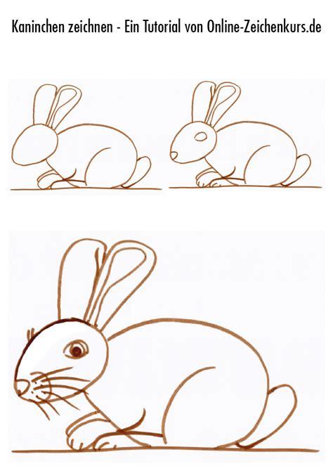 Wie Malt Einen Hasen by Kaninchen Zeichnen