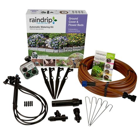 flower bed watering system the garden oracle drip systems parts gardening advice