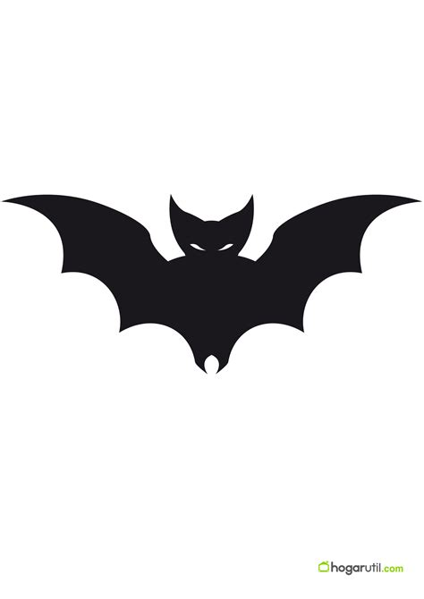 imagenes de halloween murcielagos siluetas de halloween de murci 233 lago 1 en decoraci 243 n