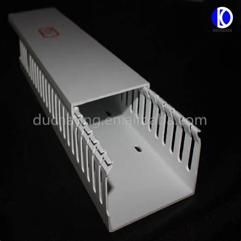 Kabel Tray Pvc Putih Listrik Fleksibel Pvc Plastik Kabel Tray Kabel