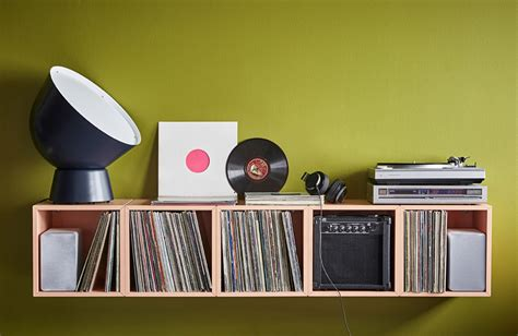 Vinyl Platten Regal by Modulares Schallplatten Regal Ikea Eket Unhyped