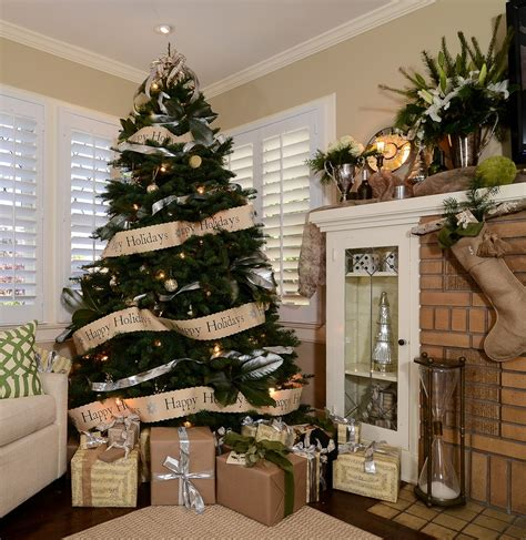 photo decorating glorious christmas tree tables decorating ideas images in