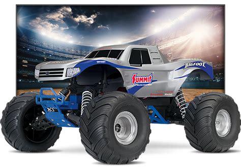 bigfoot summit truck traxxas bigfoot 1 10 2wd truck rtr 36084 1
