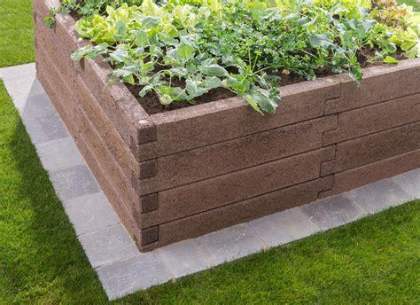 hochbeet in l form das hochbeet schmerda pflasterei fachmarkt betonwerk