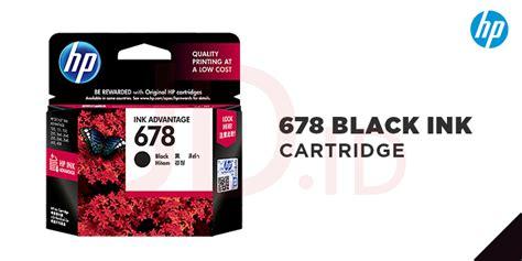 Cartridge Untuk Printer Hp 1515 jual hp 678 black ink cartridge jd id