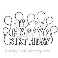 happy birthday cousin coloring page coloring sheets that say happy birthday for the special