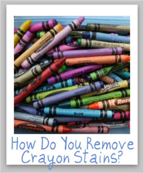 How To Remove Crayon From Car Interior by How To Remove Crayon Stain From Clothes Walls The Dryer