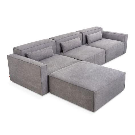 4 piece sectional gus modern mix modular 4 piece sectional eurway