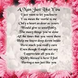 personalised coaster nan poem pink floral border free