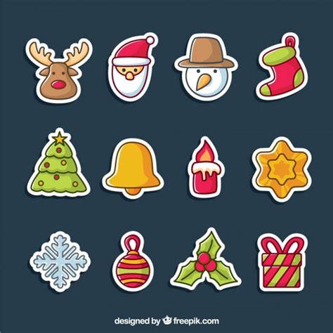 Aufkleber Weihnachten Kostenlos by Collection Of Stickers Vector Free