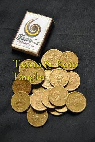 Uang Koin Rp 500 Tahun 1991 1992 tsarin dan buku langka pecahan 500 rupiah kuningan rp