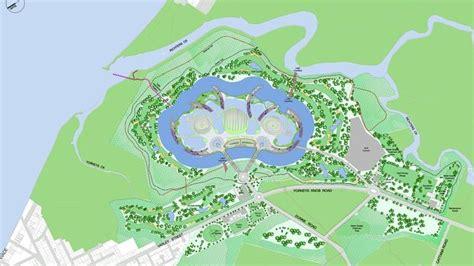 Yorkeys Knob Map by Glimpse Of Mega Resort Masterplan Reveals Scale Of