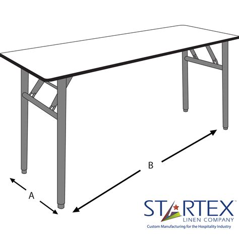 Banquet Table Dimensions by Banquet Table Sizes Table Idea