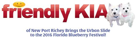 Friendly Kia New Port Richey 2016 Florida Blueberry Festival 1 000 Foot Water Slide