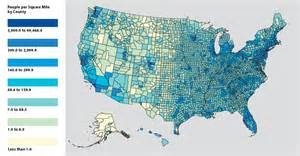 us population density map by county i couldn t find an election map by district for the whole