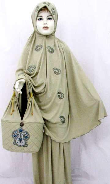 Mukena Batik Lavenda Mj mukena eksklusif busana muslim rumah madani