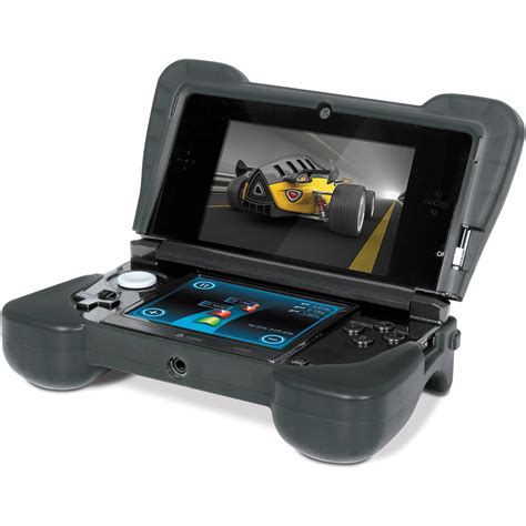 3ds xl comfort grip dreamgear comfort grip for nintendo 3ds black dg3ds 4216 b h