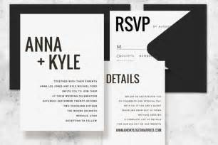 modern wedding invitation templates modern minimalist printable wedding invitation set