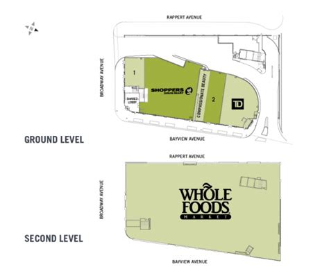 whole foods floor plan new whole foods progressing on bayview north of eglinton