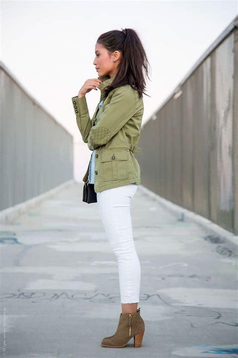 wear military  utility jackets  women