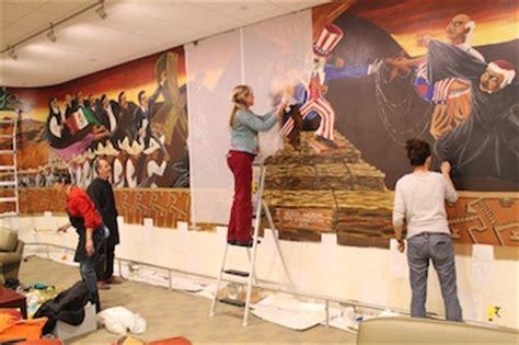 iconic mural  part   uh bookstore university